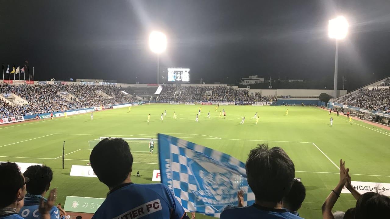 横浜FCナイター