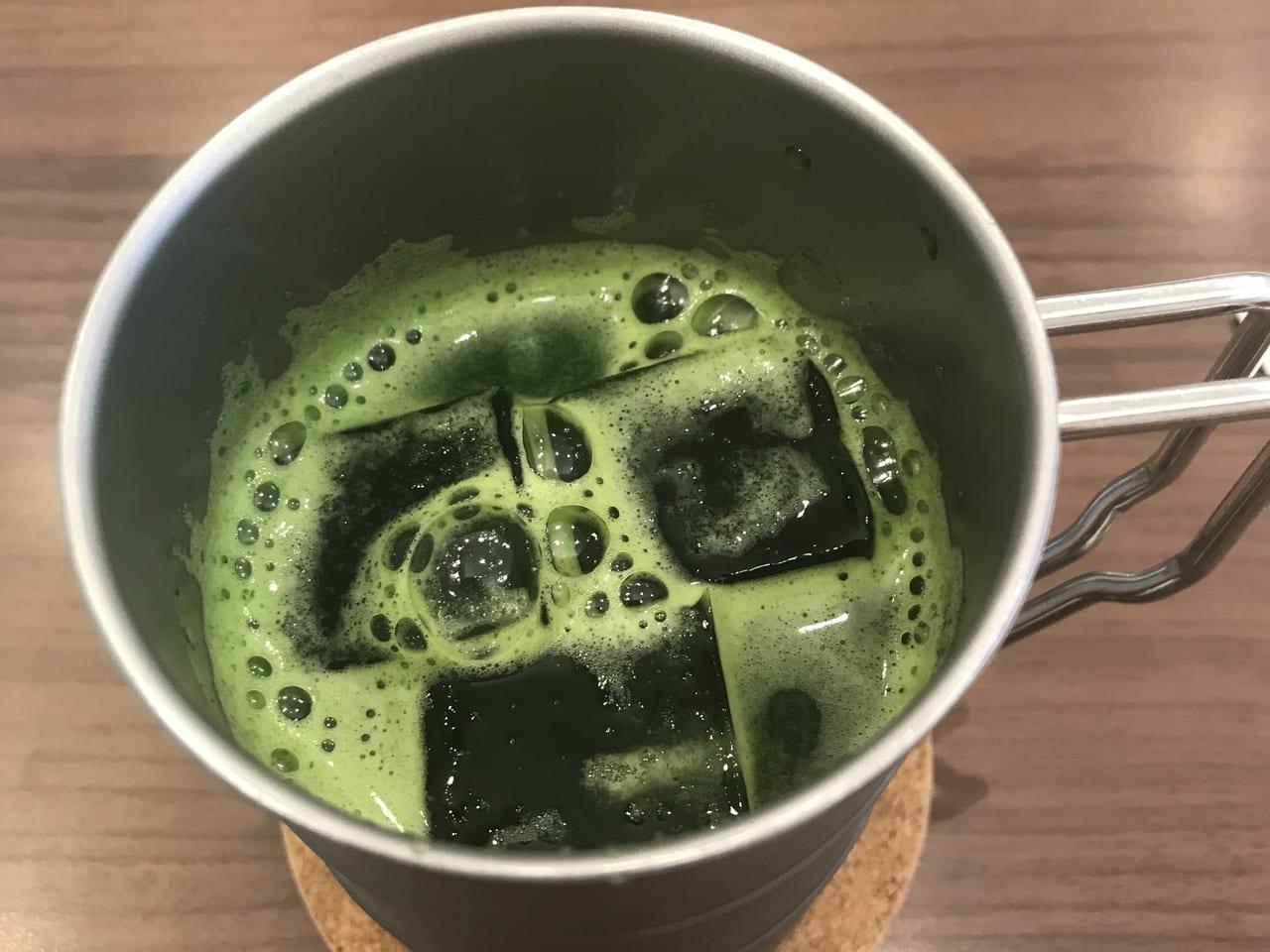水カフェのクレソンジュース
