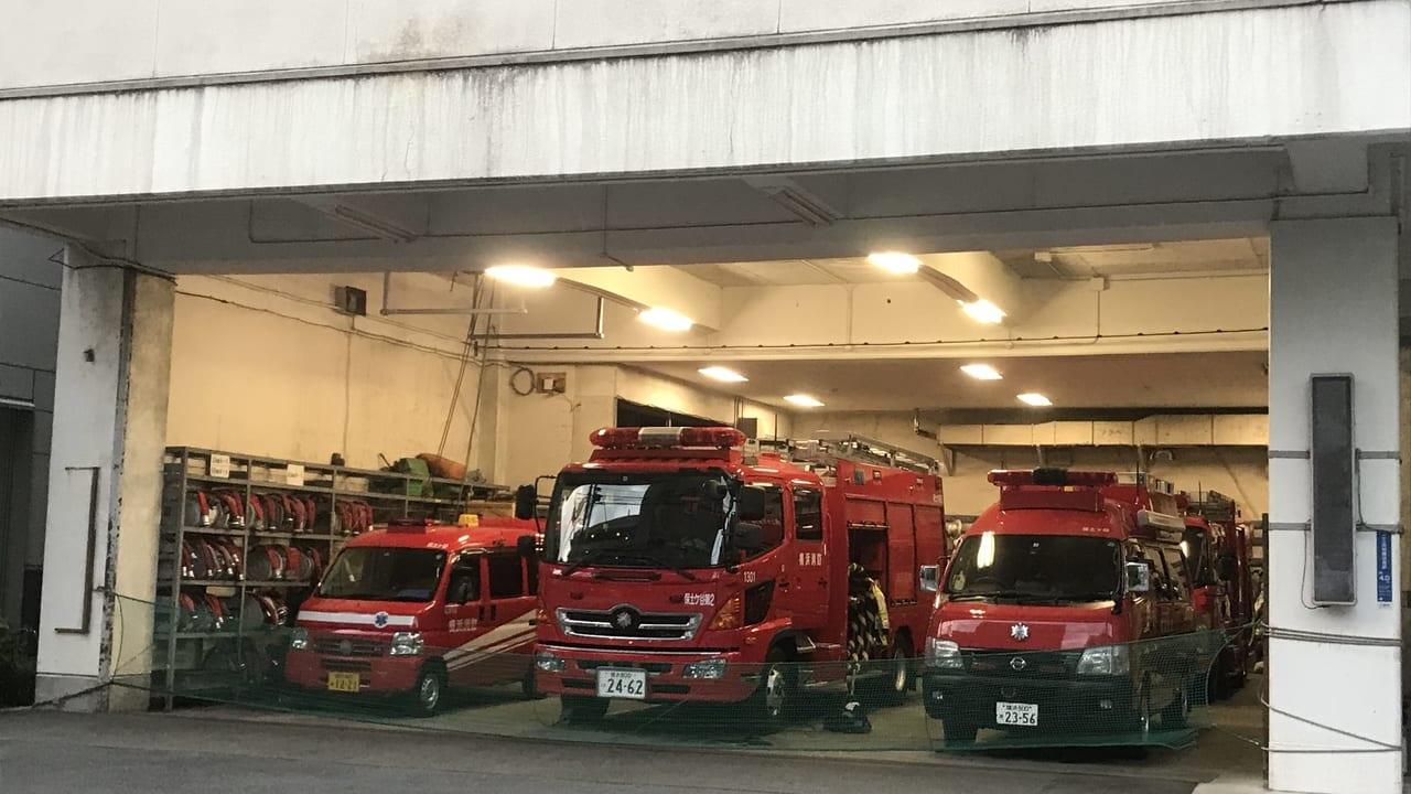 川辺町の現消防庁舎